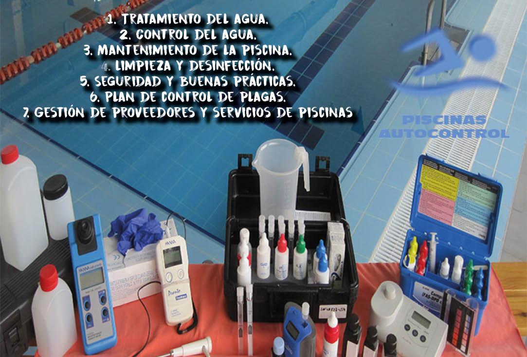 Laboratorios autorizados para análisis de agua de piscinas