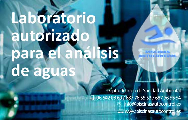 Análisis de agua de piscinas en laboratorio de Valencia