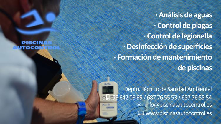Control de aguas de piscina en Alicante